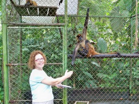 Sheryl Kayne in Costa Rica